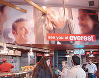 Everest Fast Food Restaurant Chain Advertising Campaign