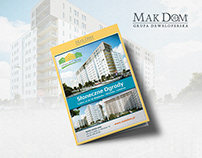 A4 brochure for real estate company