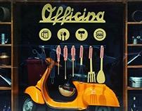 OFFICINA Restaurant_Art Direction