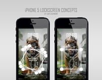 iPhone 5 Lock-Screen Concepts