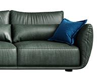 Cierre Clift Sofa 3d model
