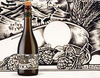 Ilustracion para Cerveza Premium Vicuña - (PERU)