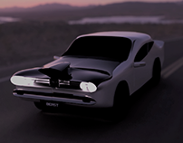 Muscle Car - 3D Modelling