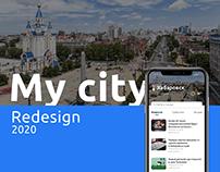 My city app   Redesign