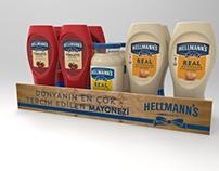 Hellmann's Turkey Campaign POP and POSM design
