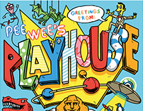 Pee Wee's Playhouse Postcard