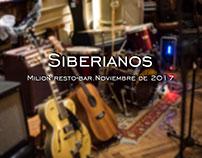 Siberianos| Noviembre de 2017.