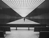 Mies van der Rohe Chicago Federal Center (1964).