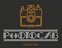 PhotoCab - Display Font