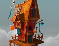 Magician hut