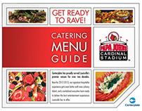 Papa John's Stadium 2013 Interactive Catering Menu