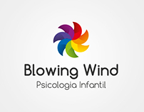 Brand Blowing Wind