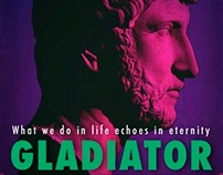 Gladiator Poster redesign