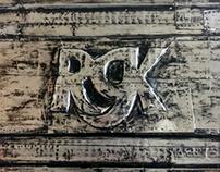 Metal Art - RGK Plaque