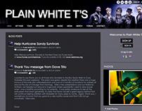 Plain White T's - Website (Ning Network)