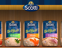 Riso Scotti - Bob cu Bob Website Design - 2012