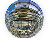 Fisheye view of the Walkie-Talkie Building