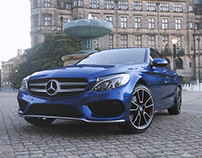 Mercedes-Benz - CGI Renders