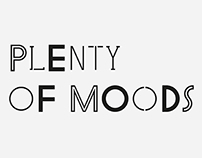 Plenty of Moods —Display Font