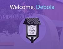 Lagos Country Club App UX/UI