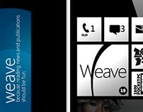 Weave News Reader - Windows Phone App