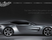 Aston Martin Website