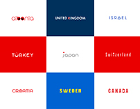 IF COUNTRIES HAD LOGOS (Part 1)