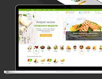 Fresh Food online store