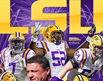 17 LSU Citrus Bowl Poster