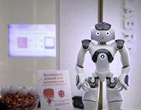 Social Video // OP Bank robot