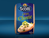 Riso Scotti - Orez Clasic - Packaging Design - 2012