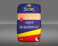 Riso Scotti - Orez Romanesc - Packaging Design - 2012