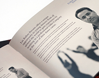 Brochure Design - Les Ballets Persans
