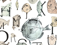 Alphabet of Caught Fish