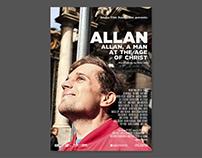 "Poster for documentary ""Allan"". Acuba Film 2015"