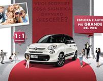 FIAT 500L - Web Site -  European Market