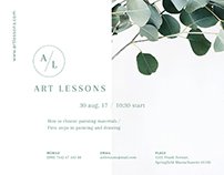 Art Lessons | Modern and Creative Templates Suite