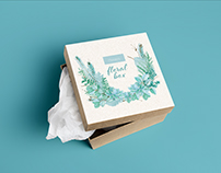 Marzia - Floral Subscription Box Design