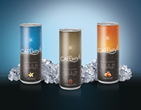 Cafékeyf Ice Coffee Packaging Design
