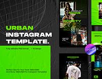 URBAN INSTAGRAM TEMPLATE (Download Link)