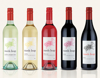 Ram's Leap - Wine Label Designs