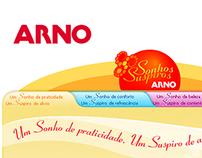 Hotsite - Arno Sonhos e Suspiros