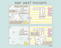 Comic: Deep Great Thougts