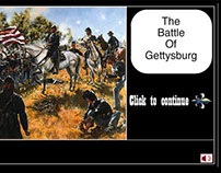 An Interactive Animation of the Battle of Gettysburg