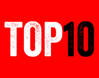 TOP 10 FONTS OF 2012