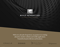 Build Interactive Web Design & Development Portfolio