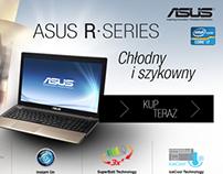 Asus R series - Landing page