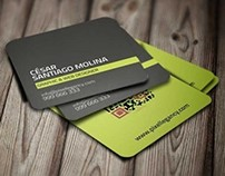 Free Professional Square Business Card
