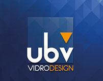 Anúncio e Caderno UBV Vidros