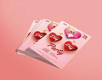 Valentines Day Event Flyer